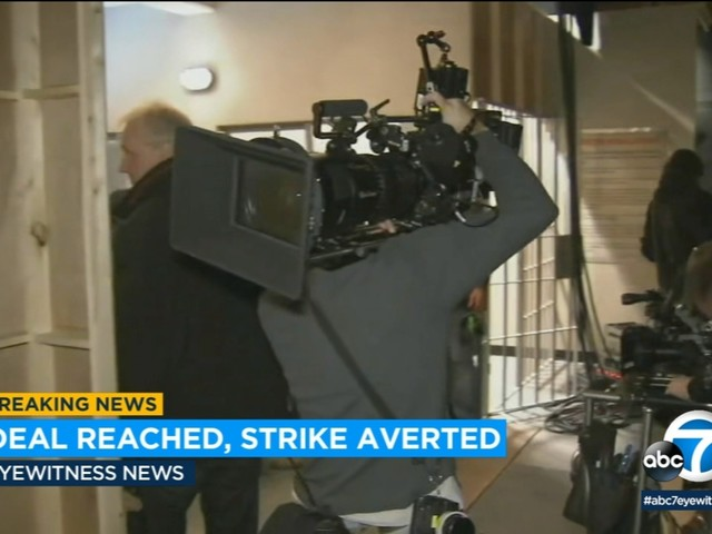 Hollywood: Strike dodged with deal between film and TV crews, studios