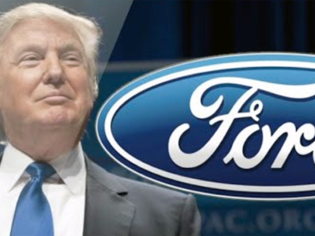 """Trump Takes Victory Lap After Ford Cancels $1.6 Billion Mexican Expansion Plan As """"Vote Of Confidence"""" In President-Elect"""