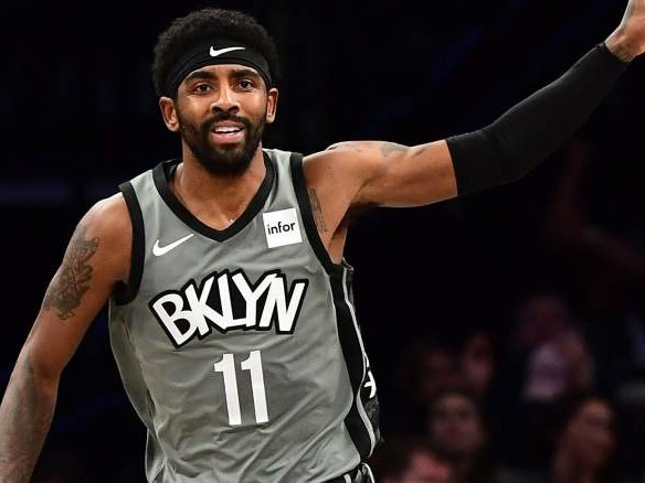Celtics Fans Troll Kyrie Irving With 'Coward' Posters Outside TD Garden Ahead of Nets-Celtics Game
