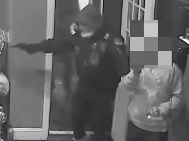 Violent armed robbery of Bronx music studio caught in video
