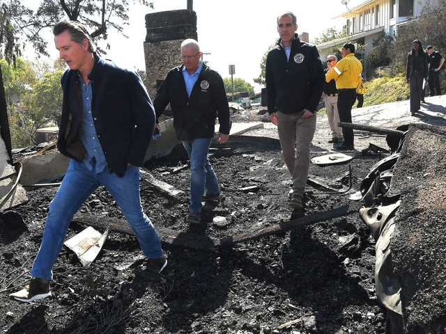 Gov. Newsom on sparring with Trump over California wildfires
