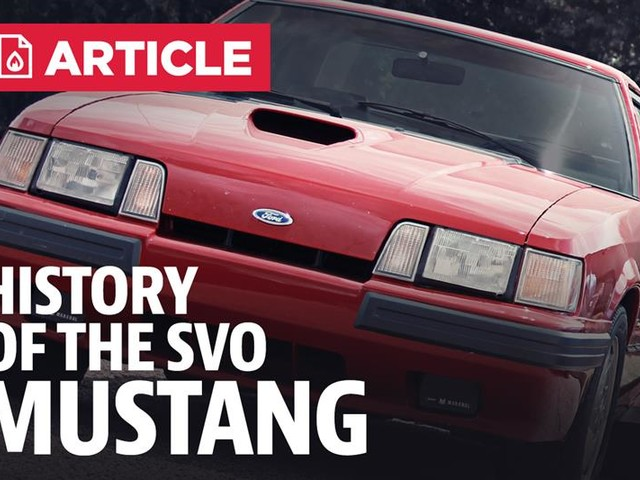 History Of The Mustang SVO