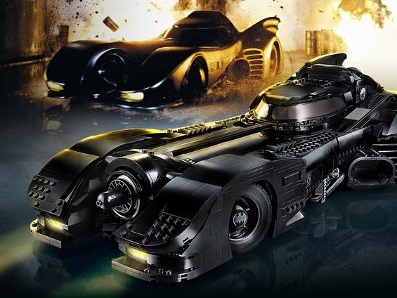 The New Michael Keaton Lego DC Batman Car is Two-Foot of Childhood Dreams Come True