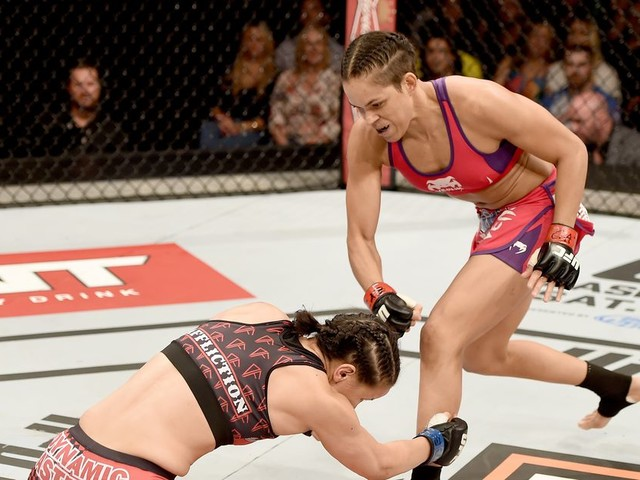 This Day in MMA History: Watch Amanda Nunes get a rare leg kick TKO