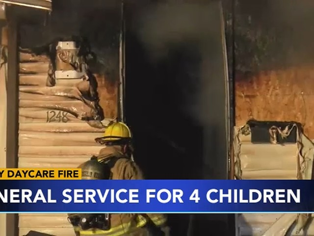 Funerals held for 4 children killed in Pennsylvania day care fire