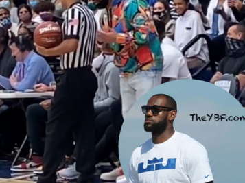 Drake Had Words For Refs At Bronny James' Game With LeBron James + Watch Lamar Odom Knock Out Aaron Carter In Celebrity Boxing Match