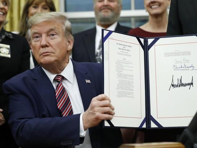Donald Trump signs bill making animal cruelty a federal felony