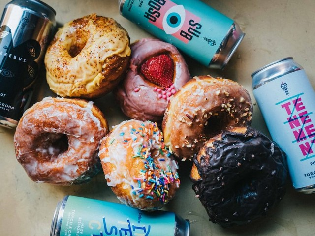 Brewery hosts beer and doughnut pairing event on Zoom