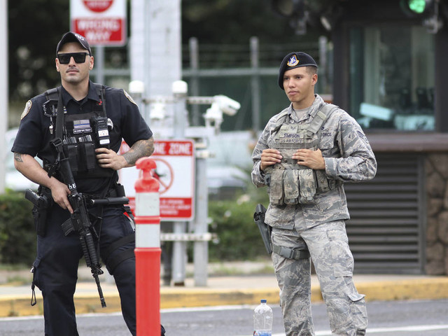Sailor who killed 2, himself at Pearl Harbor ID'd; motive unknown