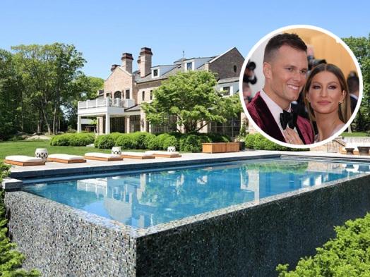 Tom Brady and Gisele Bündchen Slash Price of Brookline Mansion