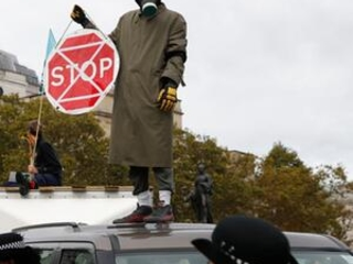 Climate protests block roads across Europe to demand action
