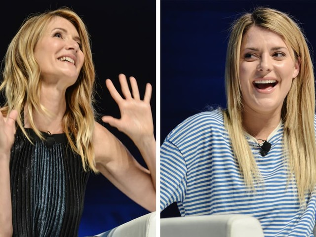 With Wildly Different Careers, Laura Dern And Grace Helbig Have Similar Outlook On Brand Work