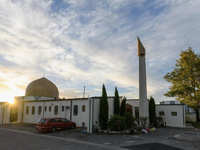 Man wearing Trump T-shirt admits abusing worshippers at New Zealand mosque