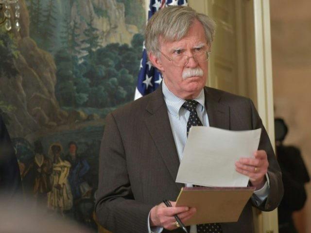 Trump Denies New York Times Report on John Bolton Book