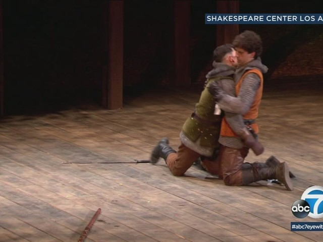 Local veterans get unique theatrical experience in star-studded Shakespeare production
