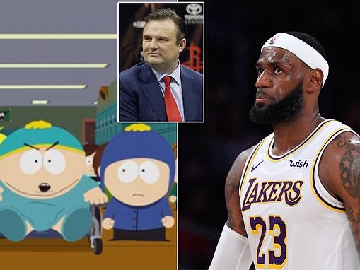 South Park takes aim at LeBron James and pokes fun at his controversial comments about China