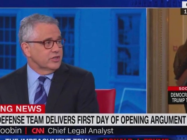 CNN analyst admits Trump is winning the impeachment trial, but has too many white lawyers