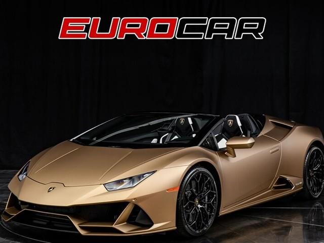 2020 Lamborghini Huracan--Evo LP 640-4 EVO Spyder