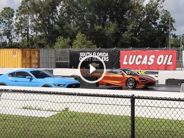 Bone Stock McLaren 720S Blasts Quarter Mile In Under 10 Seconds