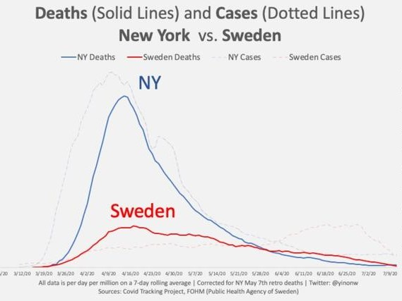"Why Sweden Succeeded In ""Flattening The Curve"" And New York Failed"