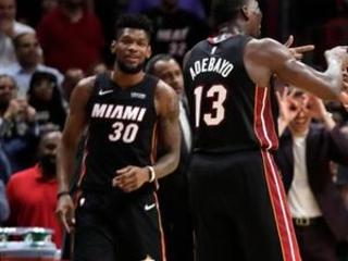 Heat use 22-0 late run to top Hawks, 135-121 in OT