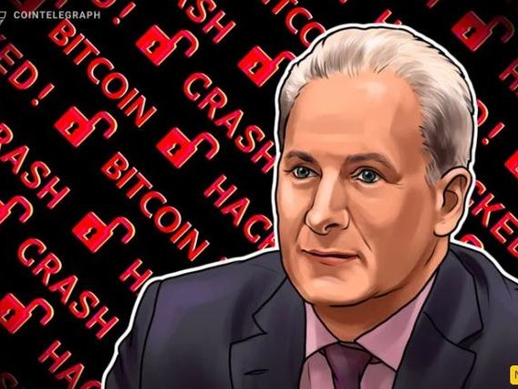 """Peter Schiff: """"I Just Lost All The Bitcoin I Have Ever Owned"""""""