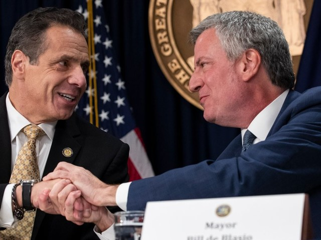 New York City Mayor Bill de Blasio says he will continue to boycott Amazon as the state offers more than $1.5 billion for its HQ2 (AMZN)