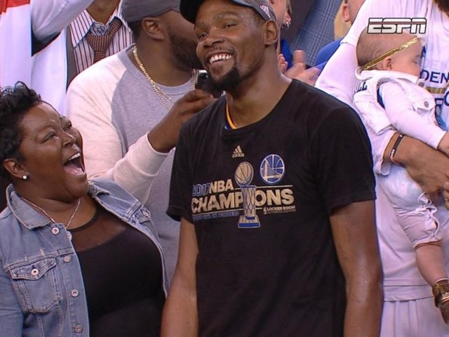 WATCH: The mother of NBA Finals MVP Kevin Durant shares her parenting secrets on 'GMA'