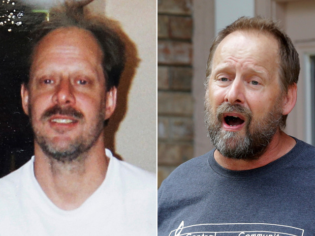 Vegas shooter's ashes given to his brother