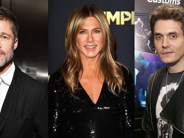 Jennifer Aniston Dating Brad Pitt And John Mayer?