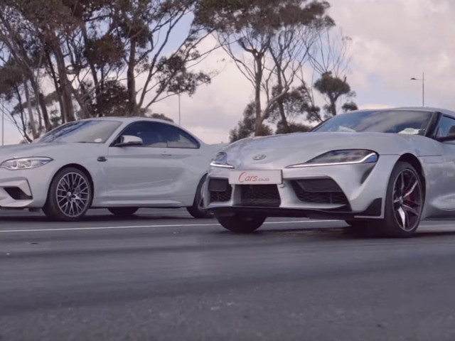Can The 2020 Toyota Supra Tackle BMW's M2 Competition?