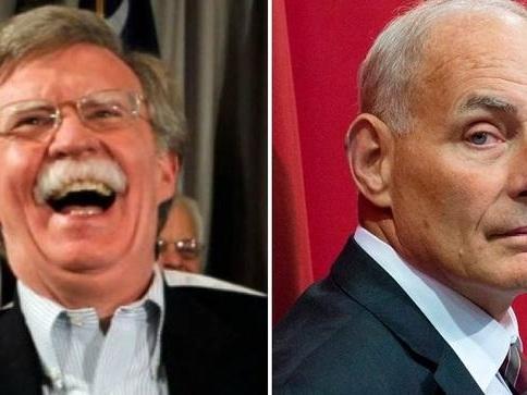 """I Believe John Bolton"" Says John Kelly In Support Of Fellow Failed Trump-Handler"