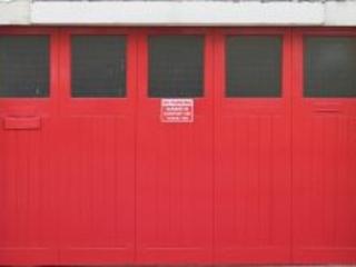 Restoring a Dull Garage Door Panel