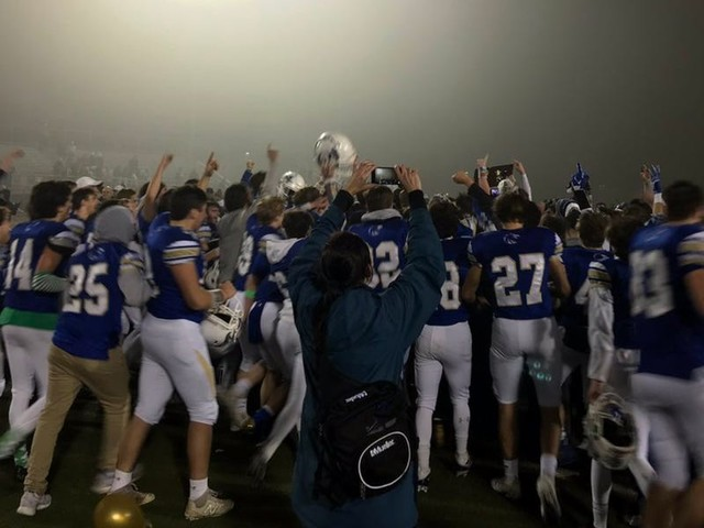 Newtown High School scored a last-second touchdown to win a state title on the Sandy Hook shooting's 7th anniversary