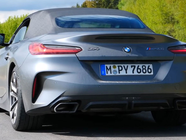 Does The New BMW Z4 M40i Sound Good To You?