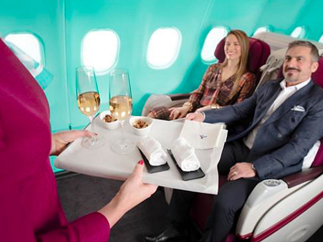 Routes: Business class sale, Unusual United flights, Alaska-Aer Lingus, Delta, Qantas, Spirit, more