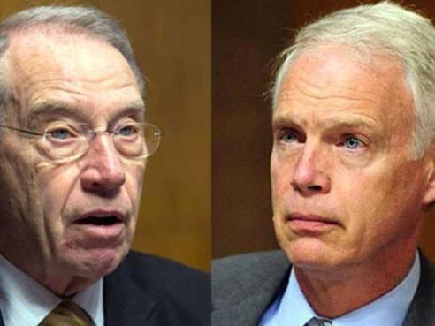 Grassley, Johnson Seek Hunter Biden's Travel Records From Secret Service
