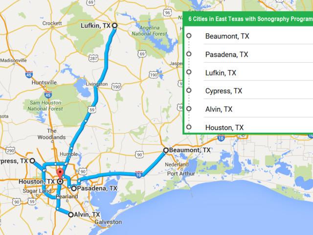 Accredited Ultrasound Technician Schools in Texas