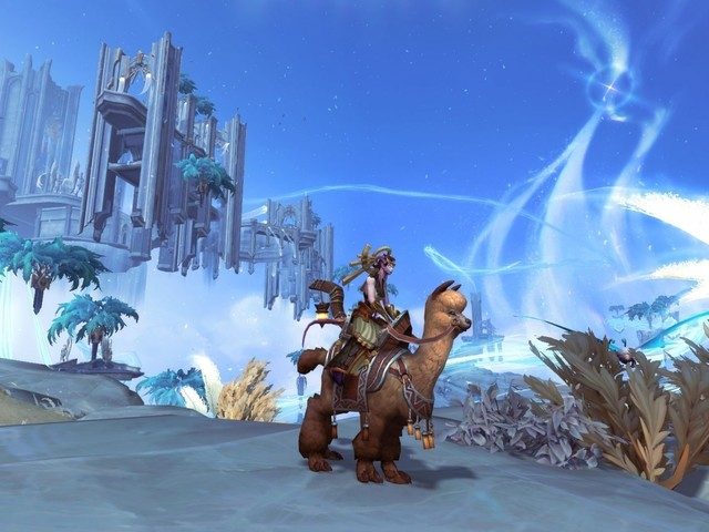 Kill World Boss Dunegorger Kraulok This Week for Chance at Mollie, the Alpaca Mount