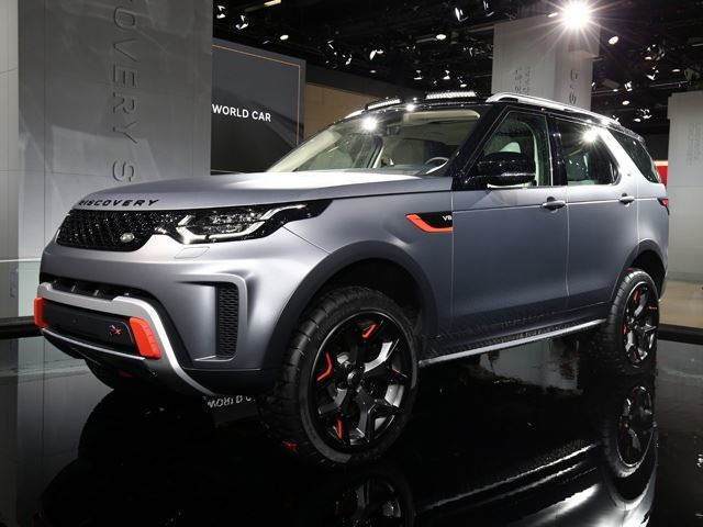 The Discovery SVX Concept Is Just The Start For More JLR Off-Roaders