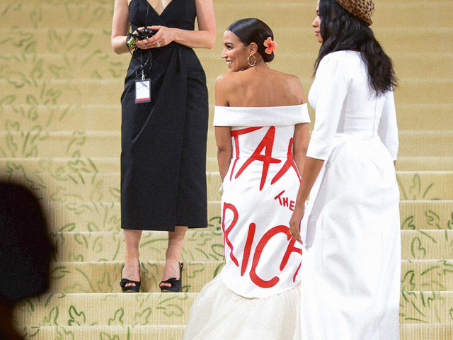 Beyond AOC's 'Tax the Rich' dress: 5 acts of fashion provocation that changed history
