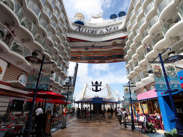 Allure of the Seas sailings from Galveston now available to book