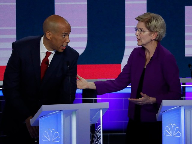 The first Democratic debate night transcript, annotated