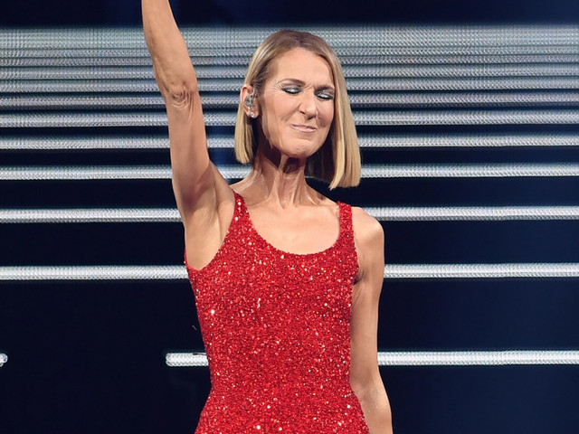 Celine Dion Appears On Stage Hours After Her Mom's Death