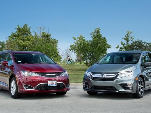 2017 Chrysler Pacifica Vs. 2018 Honda Odyssey: Minivan Matchup