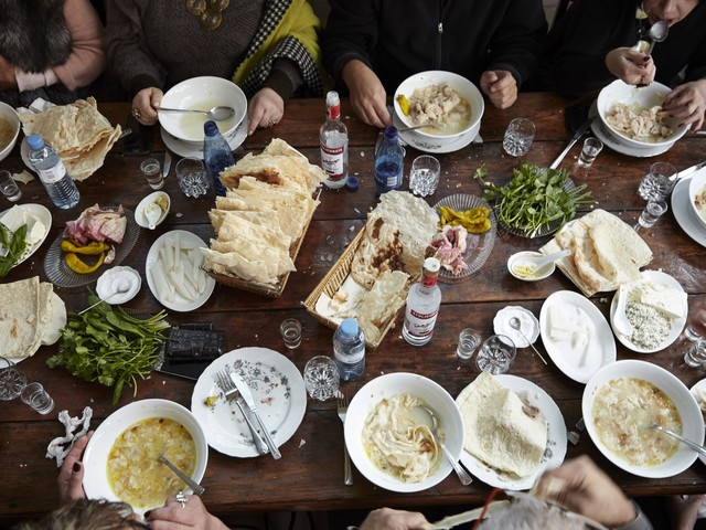 Lavash holds the Armenian table together