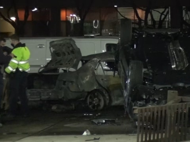 Person left 'unrecognizable' after fiery crash on Southwest Freeway