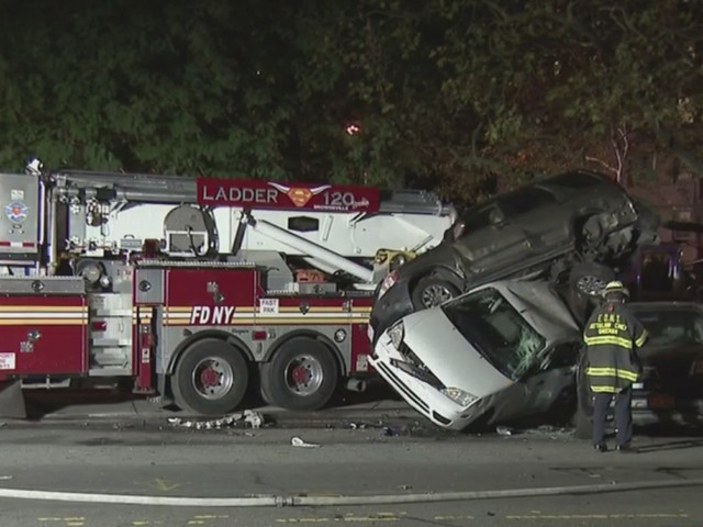 Firefighter In Serious Condition After Suffering Medical Emergency While Behind Wheel In Brooklyn