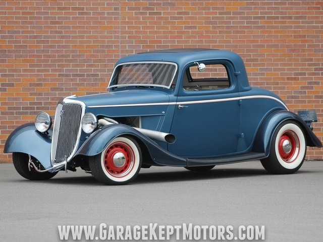 1934 Ford 3--Window--Coupe Custom Coupe