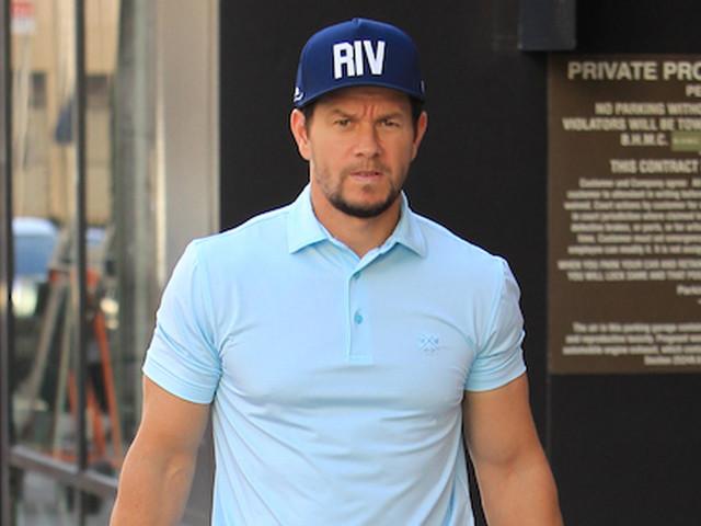 Mark Wahlberg Puts Bulging Biceps on Display in Tight Sleeves